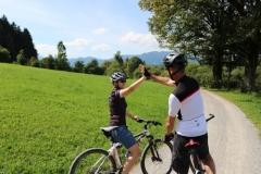 Erfolgreiche Biketour mit Motivationstraining